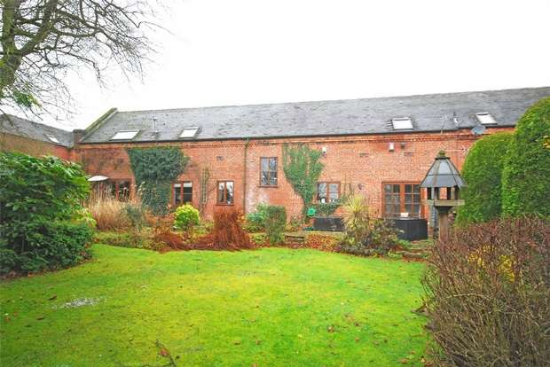4 Bedrooms Mews House for sale in Mill Court, Mill Lane, Shenstone, Lichfield, Staffordshire