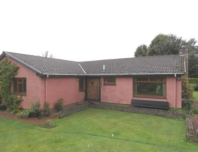 4 Bedrooms Detached Bungalow for sale in High Barrwood Road, Kilsyth, Glasgow, G65
