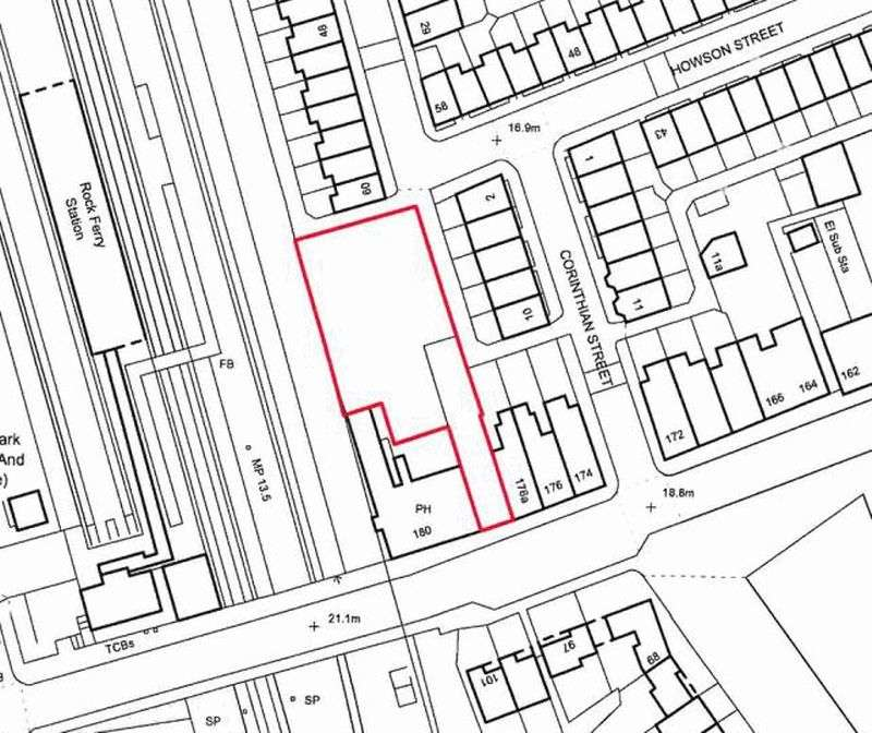 Land Commercial for sale in Bedford Road, Rock Ferry, Wirral