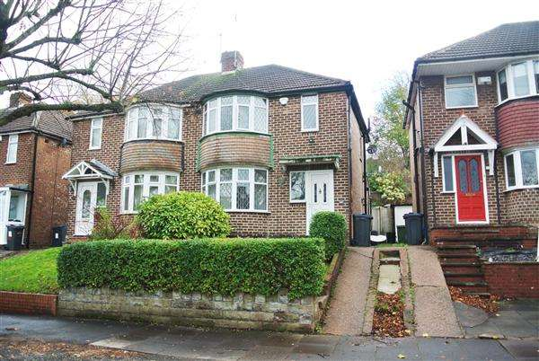 3 Bedrooms Semi Detached House for sale in Burnham Road, Great Barr