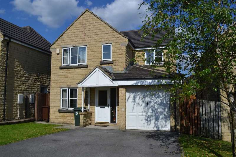 4 Bedrooms Detached House for sale in Siskin Drive, Westwood Park, Bradford