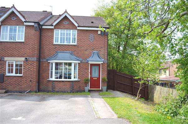 3 Bedrooms Town House for sale in Bowlers Close, Festival Heights, Stoke-On-Trent