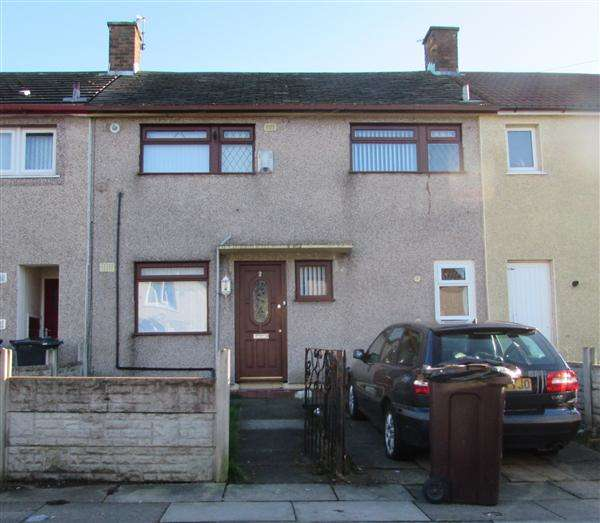 3 Bedrooms Terraced House for sale in Links Road, Kirkby