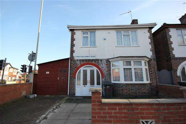 3 Bedrooms Detached House for sale in Off Evington Road, Leicester, LE5