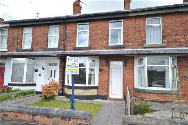 3 Bedrooms Terraced House for sale in Springs Road, Chorley, Chorley