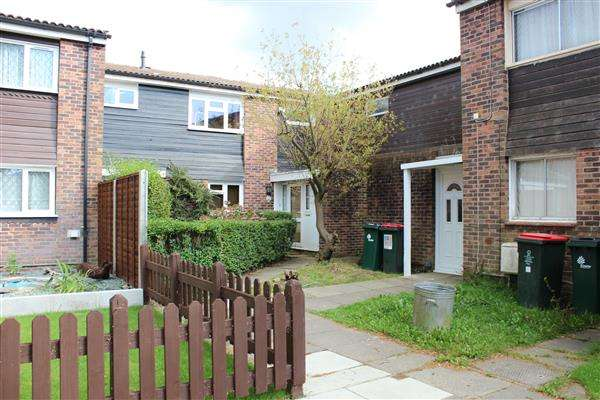 3 Bedrooms Terraced House for sale in Burrell Court, Crawley