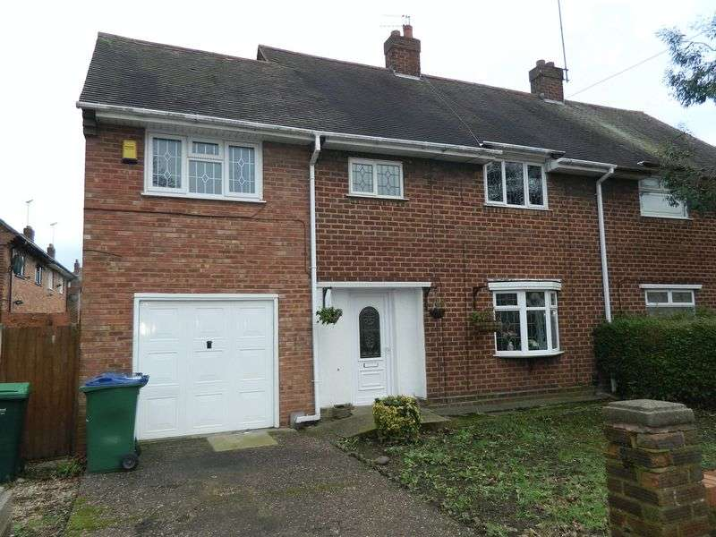 3 Bedrooms Semi Detached House for sale in Dingley Road, Wednesbury