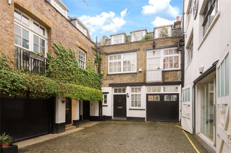 3 Bedrooms Mews House for sale in Bourlet Close, London, W1W