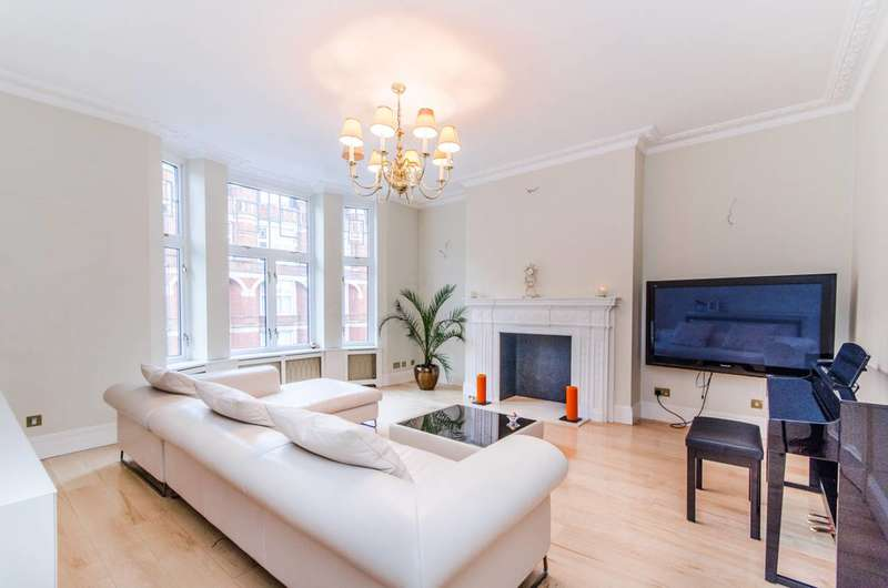 3 Bedrooms Flat for sale in Bickenhall Street, Marylebone, W1U