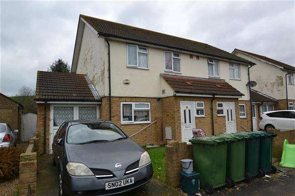 3 Bedrooms Semi Detached House for sale in Whitelodge, Stanwell New Road, Staines