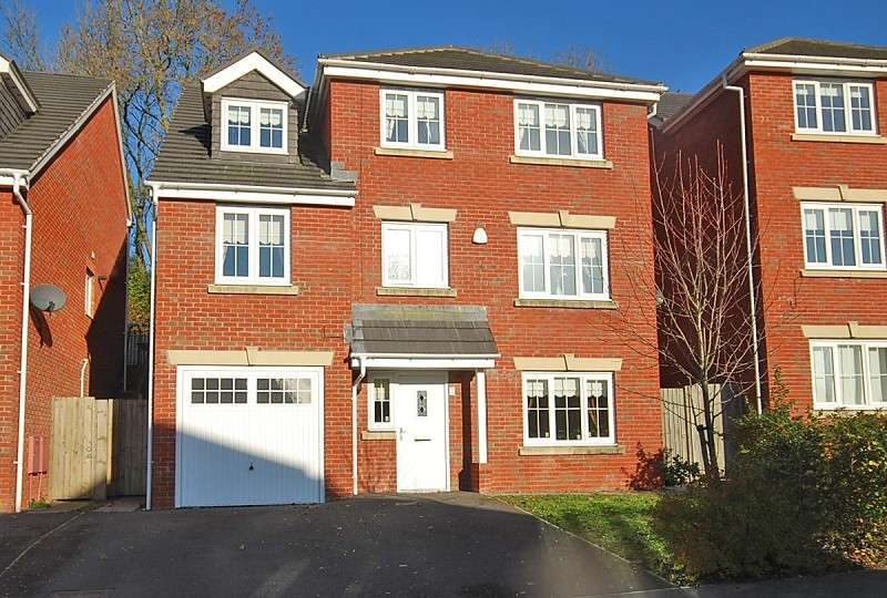 5 Bedrooms Detached House for sale in Pontymason Rise, Rogerstone, Newport, Gwent. NP10 9GJ