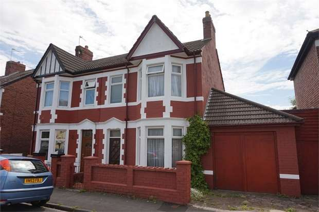 3 Bedrooms Semi Detached House for sale in Liswerry Road, NEWPORT