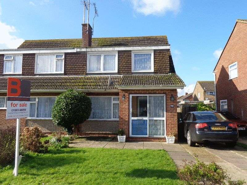 3 Bedrooms Semi Detached House for sale in Boxgrove, Goring