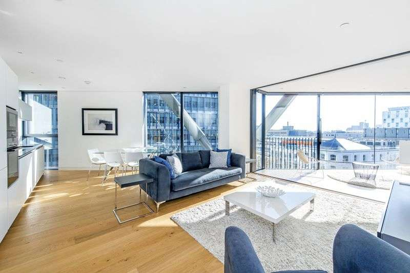 2 Bedrooms Flat for sale in NEO Bankside, London