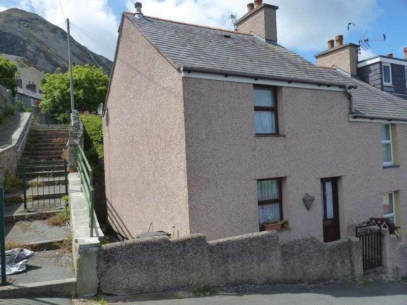 2 Bedrooms Terraced House for sale in 4 Cae Derwen Road, Penmaenmawr LL34 6PG
