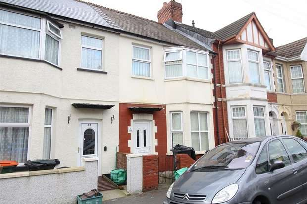 3 Bedrooms Terraced House for sale in Walmer Road, NEWPORT