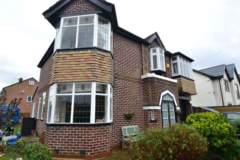 4 Bedrooms Detached House for sale in Bolshaw Road, Heald Green