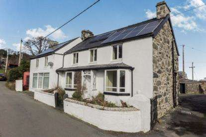 4 Bedrooms Detached House for sale in Llanbedr-y-Cennin, Conwy, Conwy, LL32