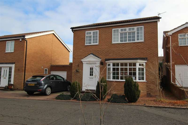 3 Bedrooms Detached House for sale in Yardley Grove, Westwood Grange, Cramlington