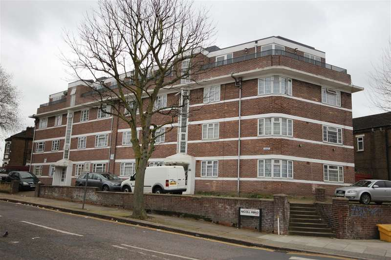 2 Bedrooms Flat for sale in Nicoll Road, London