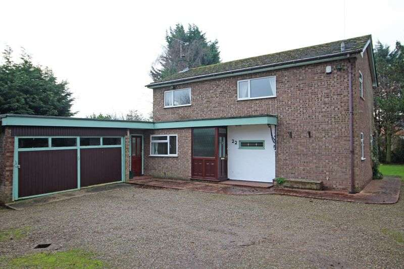 4 Bedrooms Detached House for sale in Bryn Estyn Road, Wrexham
