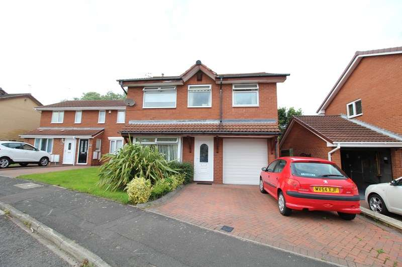 4 Bedrooms Detached House for sale in Beechwood Close, Jarrow