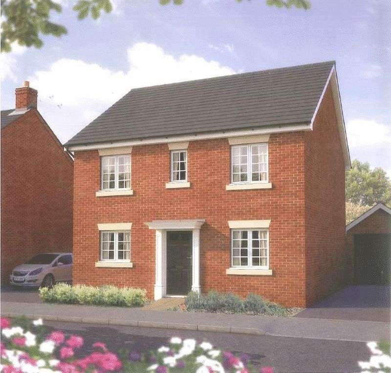 4 Bedrooms Detached House for sale in A brand new development of 2,3,4 and 5 bedroom homes at Bramble Chase , Honeybourne, Worcestershire WR11 7XR
