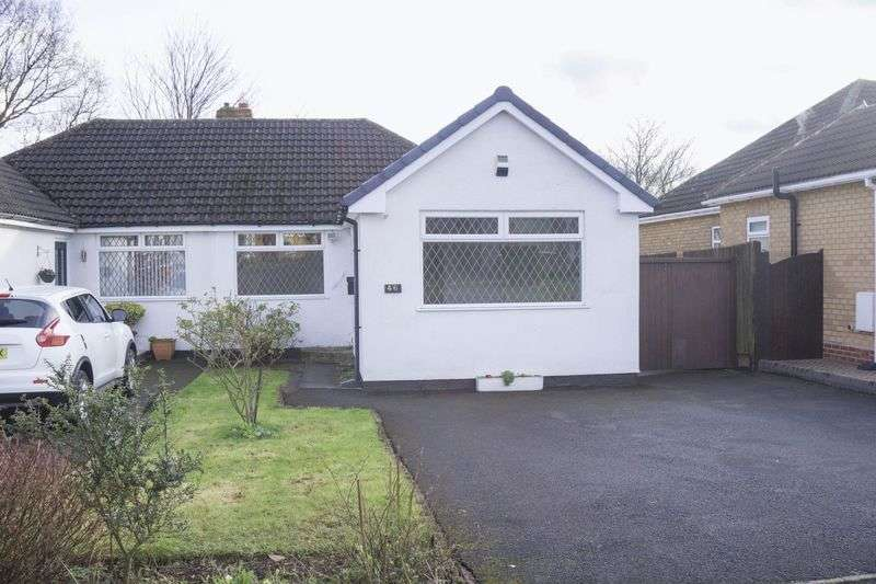 2 Bedrooms Semi Detached Bungalow for sale in Hallcroft Way, Aldridge, Walsall.