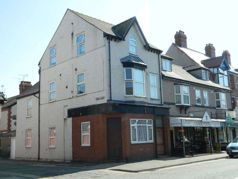 1 Bedroom Flat for sale in Wellington Road, RHYL