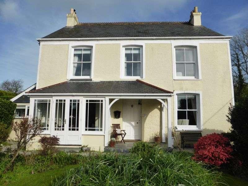 4 Bedrooms Detached House for sale in Passage Hill, Mylor Bridge