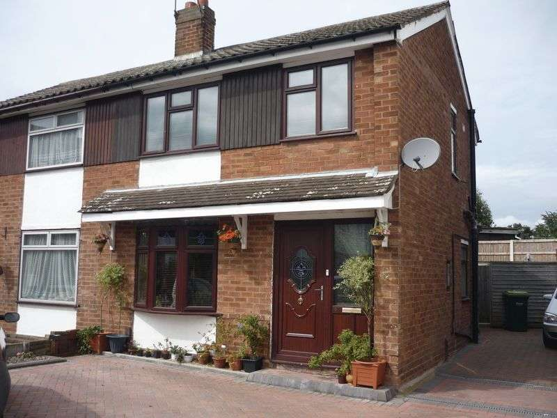 3 Bedrooms Semi Detached House for sale in Bartlett Close, Tipton