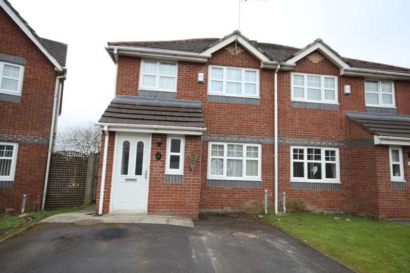 3 Bedrooms Semi Detached House for sale in MILL NOOK, Syke, Rochdale OL12 0HS