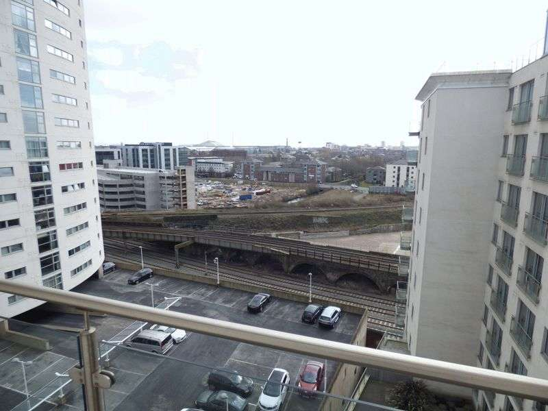 1 Bedroom Flat for sale in Meridian Plaza, Cardiff