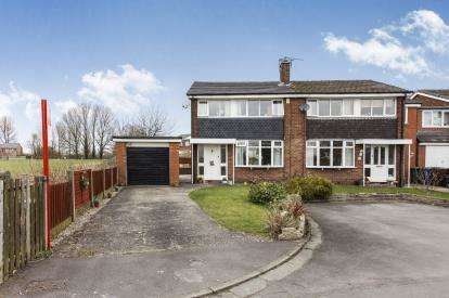 3 Bedrooms Semi Detached House for sale in Townson Drive, Leigh, Greater Manchester