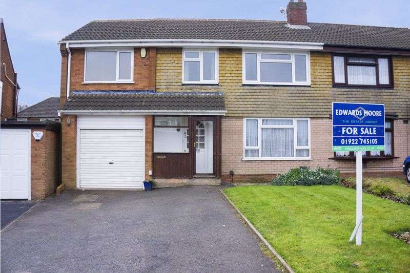 5 Bedrooms Semi Detached House for sale in Greenfields Road, Shelfield, Walsall