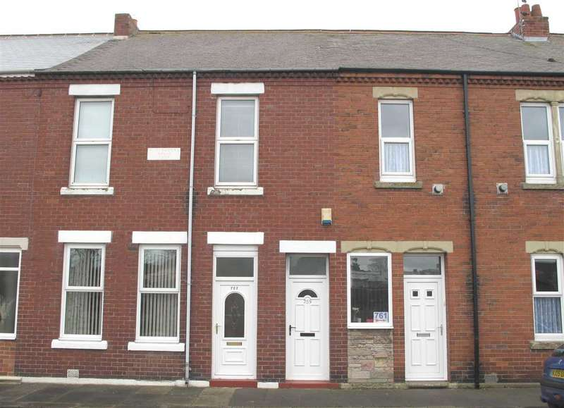 2 Bedrooms Flat for sale in Plessey Road, Newsham, Blyth