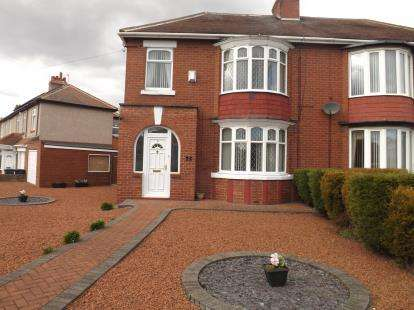 3 Bedrooms Semi Detached House for sale in Harton Lane, South Shields, Tyne and Wear, NE34