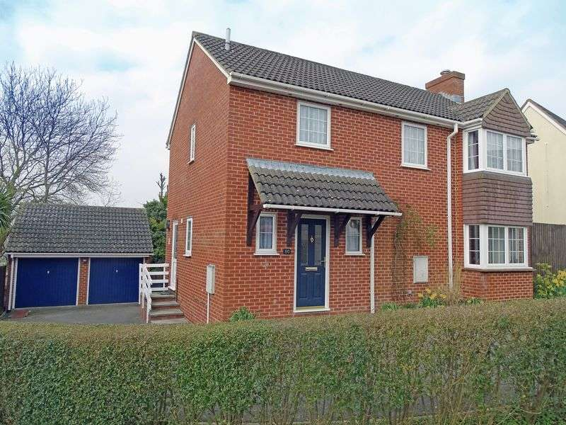 4 Bedrooms Detached House for sale in Hilltop Way, Salisbury