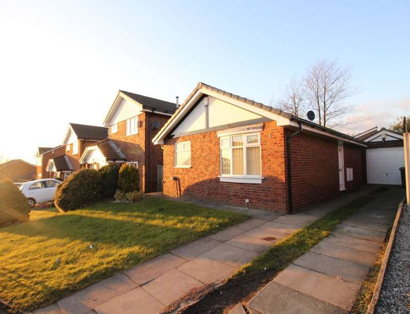 2 Bedrooms Semi Detached Bungalow for sale in Beckley Close, Royton, Oldham, OL2