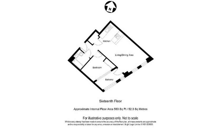 1 Bedroom Property for sale in Manhattan Plaza, Canary Wharf, London, E14