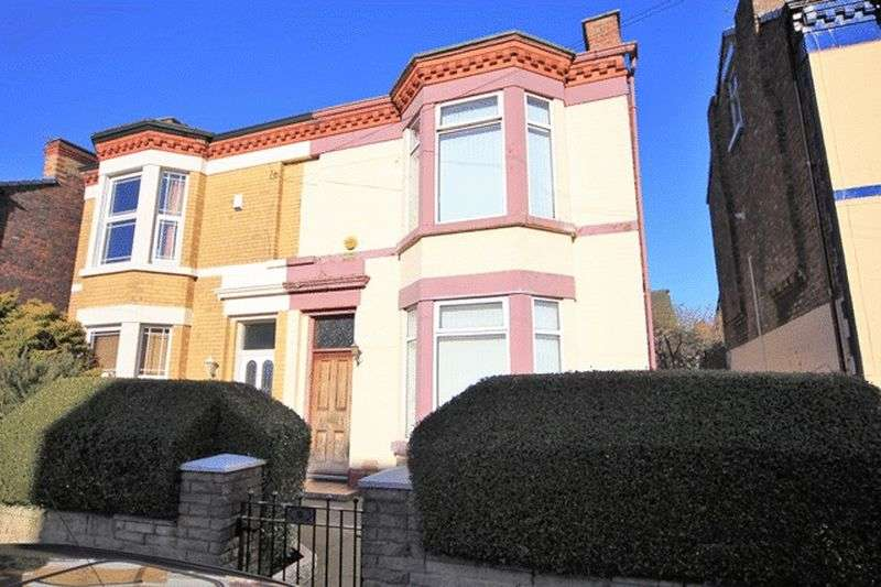 4 Bedrooms Semi Detached House for sale in Lorne Street, Fairfield, Liverpool, L7