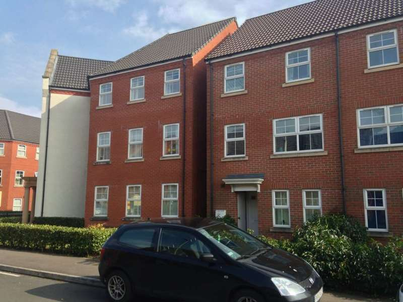 2 Bedrooms Apartment Flat for sale in Larchmont Road, Leicester