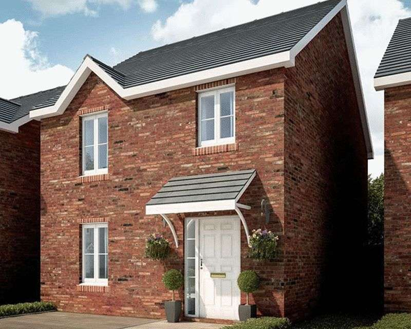 3 Bedrooms Detached House for sale in Plot 43, Ponthir Road Caerleon NP18 3NY