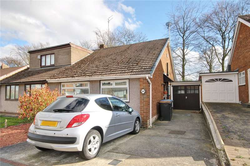 2 Bedrooms Semi Detached Bungalow for sale in Rydal Road, Garden Farm, Chester Le Street, DH2
