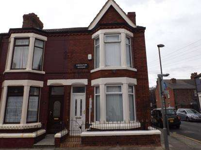 3 Bedrooms End Of Terrace House for sale in Swanston Avenue, Liverpool, Merseyside, L4