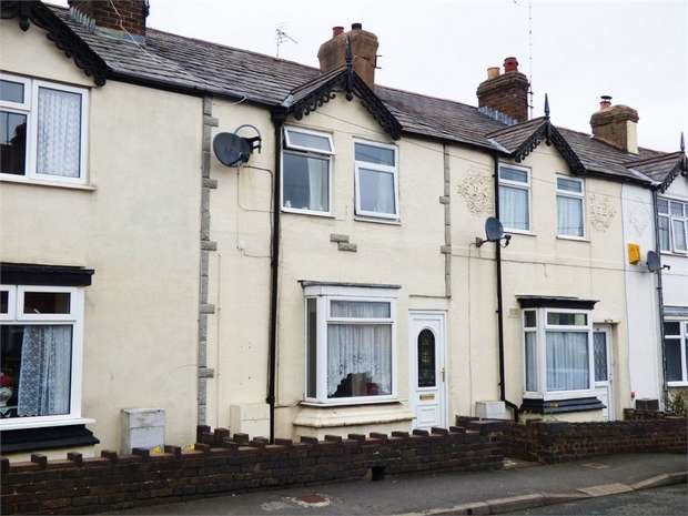 3 Bedrooms Terraced House for sale in Spon Green, Buckley, Flintshire