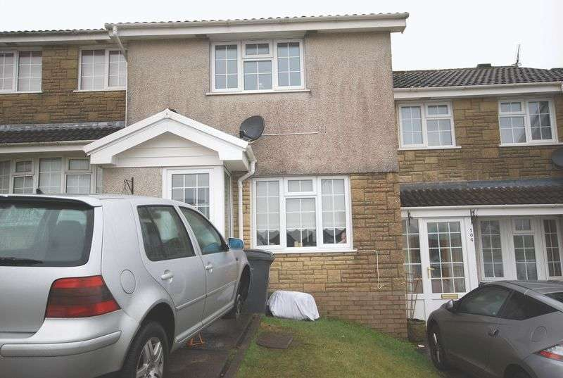 2 Bedrooms Terraced House for sale in 106 Ridgewood Gardens, Cimla, Neath, SA11 3QG