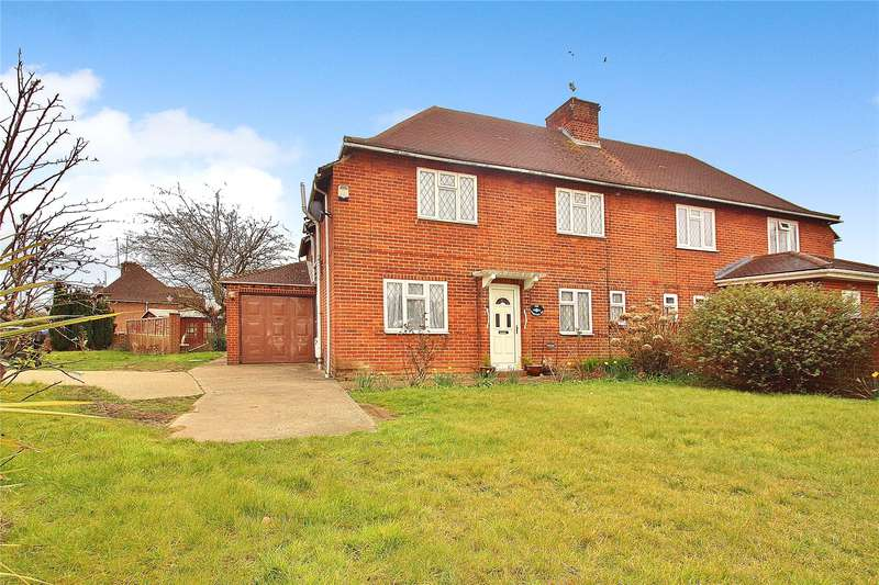 5 Bedrooms Semi Detached House for sale in Sparvell Road, Knaphill, Woking, Surrey, GU21