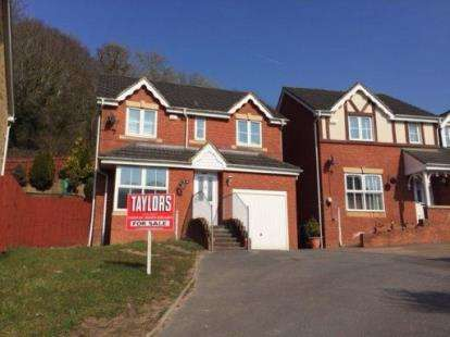 4 Bedrooms Detached House for sale in Heritage Drive, Caerau, Cardiff, South Glamorgan