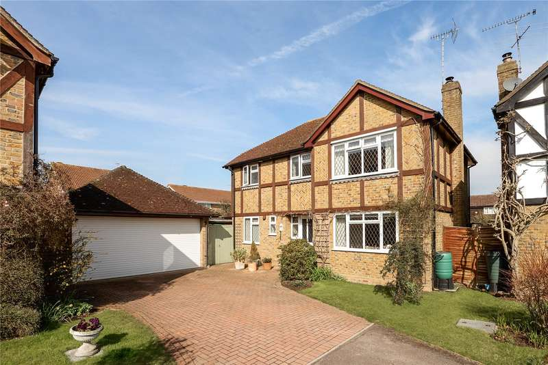 4 Bedrooms Detached House for sale in Wield Court, Lower Earley, Reading, Berkshire, RG6